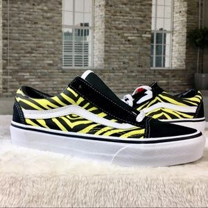 Vans Old Skool Zebra Print Shoes